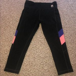 Fila crop leggings